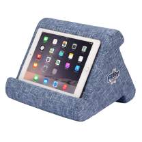 The Original Flippy Multi-Angle Soft Pillow Lap Stand for iPads, Tablets, eReaders, Smartphones, Books, Magazines (Blue are You)