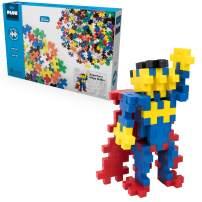 PLUS PLUS Big - Instructed Play Set - Mega Maker Superhero - Construction Building STEM   STEAM Toy, Interlocking Large Puzzle Blocks for Toddlers and Preschool