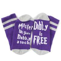 Master has given Dobby a sock Dobby is Free - Funny Saying Casual Socks for Women and Men - Comfort & Fit - Cotton Socks