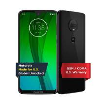 Moto G7 | Unlocked | Made for US by Motorola | 4/64GB | 12MP Camera | Black