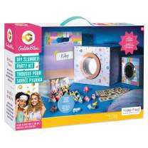 Make It Real GoldieBlox - DIY Slumber Party Movie Night STEM Toy Sleepover Craft Kit to Make Movie Projector - Includes Smartphone Projector, Popcorn Cups, Sleep Mask