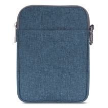 "MoKo 6 Inch Kindle Sleeve Case Fits for All-New Kindle 10th Generation 2019/Kindle Paperwhite 2018, Nylon Cover Pouch Bag for Kindle Voyage/Kindle (8th Gen, 2016)/Kindle Oasis 6"" E-Reader, Denim Blue"