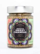 Moroccan Parsley Chermoula Sauce - Tara Kitchen - Vegetarian, Gluten-Free, Nut-Free, and Dairy-Free (11.8 Ounce)
