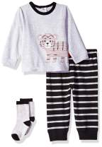 Little Me Baby Boy's Jogger Set Shirt