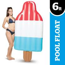 Big Mouth Inc. Ice Pop Pool Float – Gigantic 6 Foot Pool Float, Funny Inflatable Vinyl Summer Pool or Beach Toy, Makes a Great Gift Idea, Patch Kit Included
