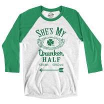 Mens Shes My Drunker Half Funny Matching Saint Patricks Day Drinking T Shirt