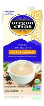 Oregon Chai Chai Tea Latte Concentrate, Salted Caramel, 32 Ounce Box (Pack of 6)