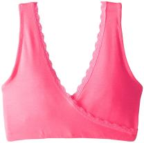 Lamaze Maternity Women's Lace Soft Sleep and Nursing Bra, Hot Pink, Small