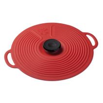 ZEAL Air Tight Push to Seal Silicone Classic Pot Lid Design Kitchen Lid - ECO Friendly - For use with pots