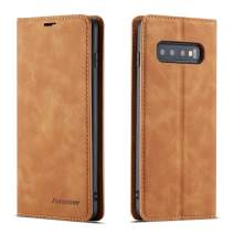 Wallet Case for Galaxy S10/ S10 Plus/ S9/ S9 Plus [Folio Cover][Stand Feature] Slim Flip Leather Card Slot Case
