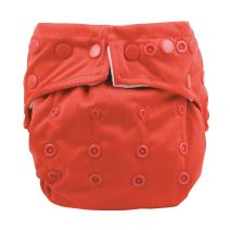 Bumkins Cloth Diaper Snap All-In-One (AIO) or Pocket, 7-28lbs, Red