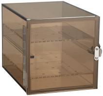 Bel-Art Bronze Acrylic Desiccator Cabinet; 0.21 cu. ft. (F42064-0001)