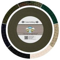 Country Brook Design - 1 1/4 Inch Woodland Camo Heavy Cotton Webbing, 10 Yards