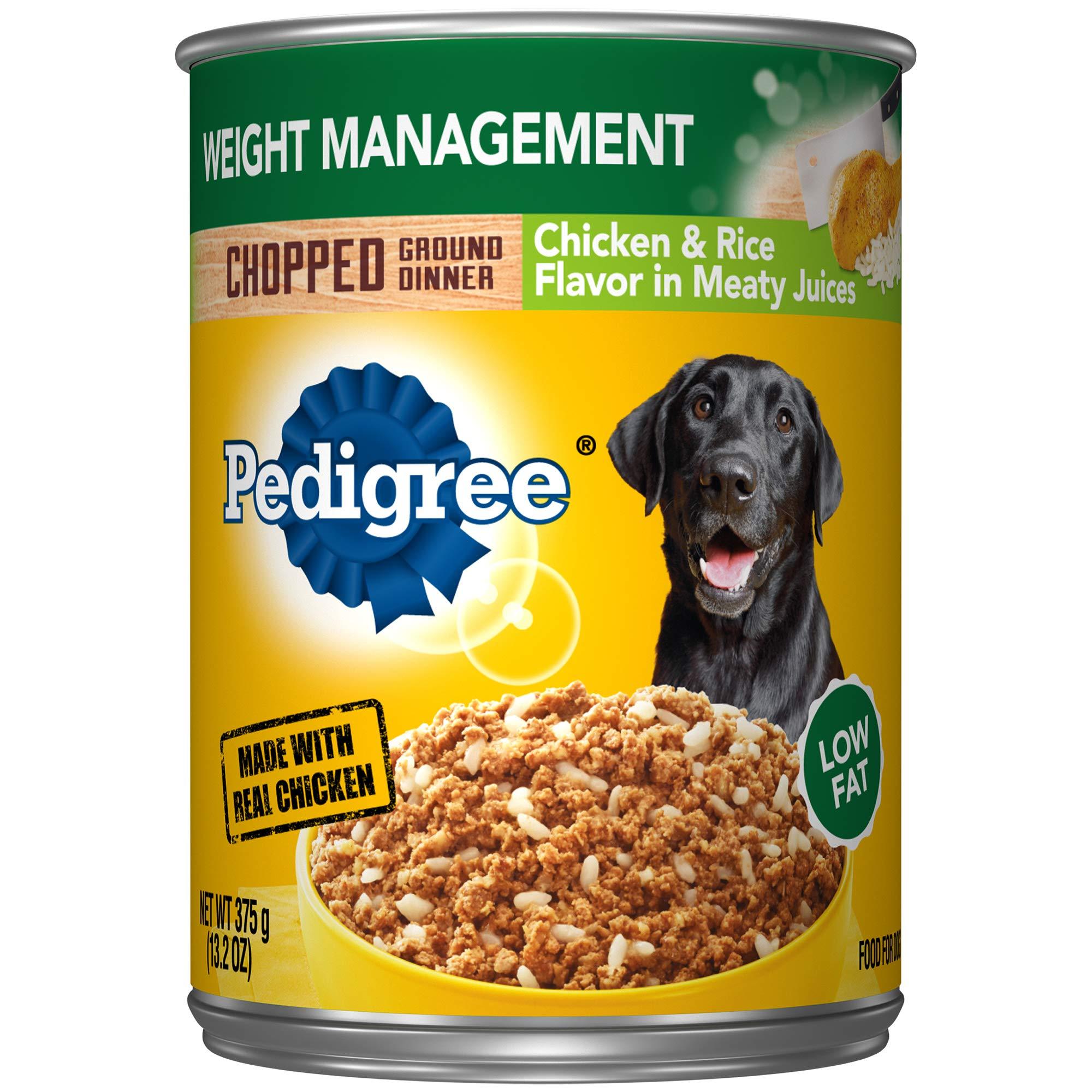 Pedigree Weight Management Adult Dry & Wet Dog Food