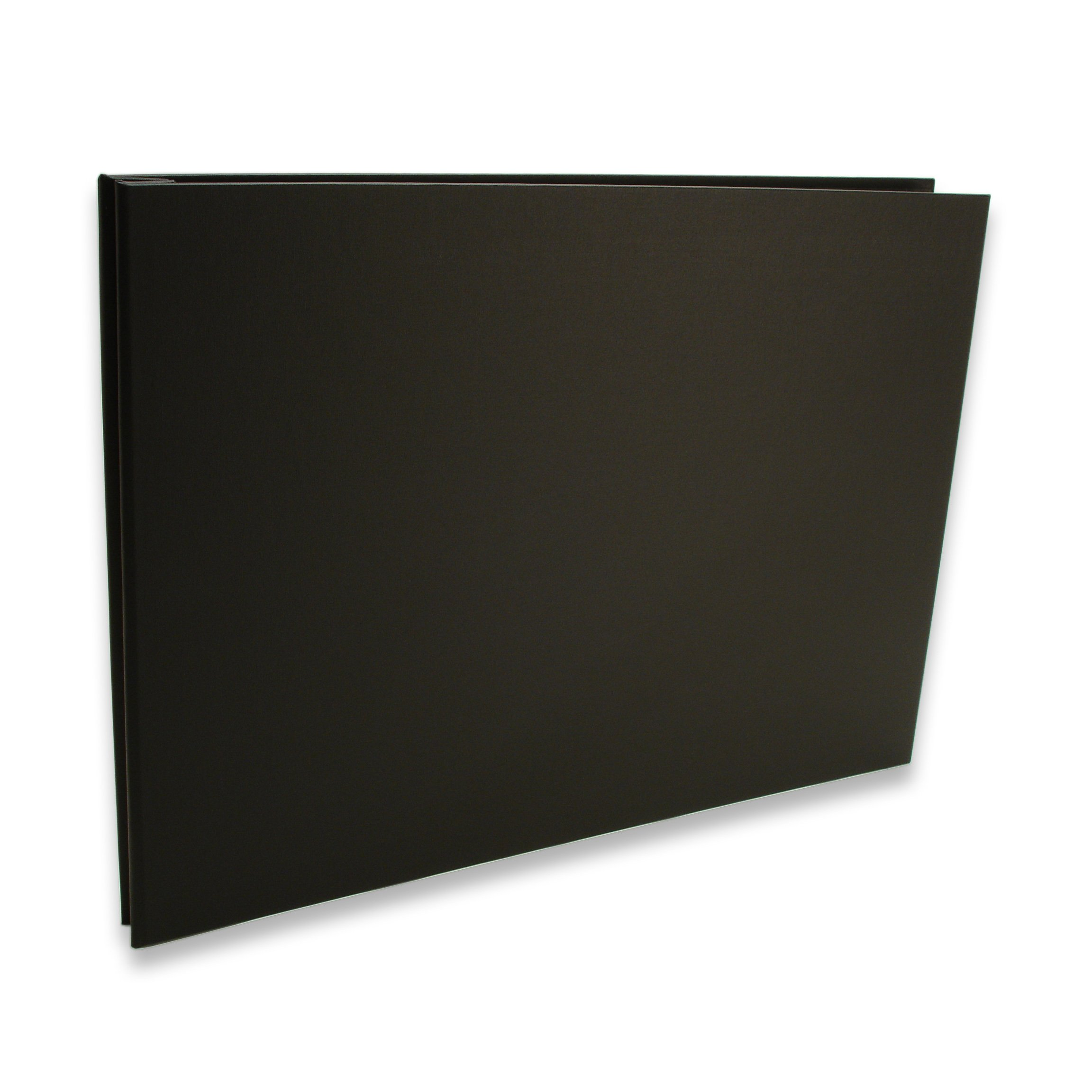 Pina Zangaro Bex Black Screwpost Binder, 11x14 Landscape Orientation (34450)