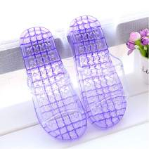 Massage Slippers,URBEST Feet Meridians Fashion Quick Drying Breathable Shower Slippers, Foot Massgaer Shoes, Spa Shoes (S, Purple)