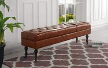 Housel Living Bench, Light Brown