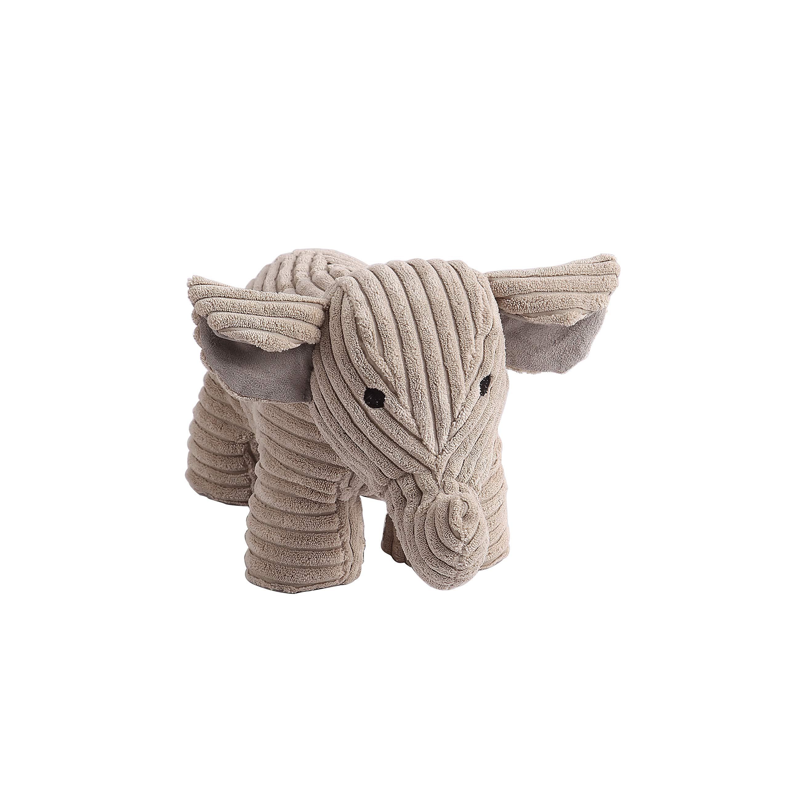 Decorative Door Stopper by Morgan Home – Available in Many Adorable Animals and Styles – Durable, Subtle Home Decor Easily Matches Measures Approx. 11 x 5.5 x 5.5 Inches (Grey Elephant)