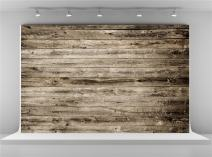 Kate 10x6.5ft Grey Wood Texture Photography Backdrops Vintage Wooden Wall Background for Shooting