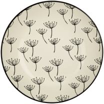 Lenox Around the Table Wish Accent Plate, White
