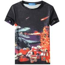 SSLR Youth Big Boys' Xmas T Shirts Santa Claus Funny Ugly Christmas Sweater Tee