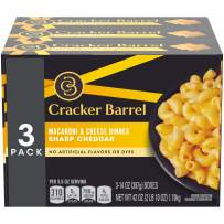 Cracker Barrel Sharp Cheddar Macaroni and Cheese Dinner (14 oz Boxes, Pack of 3)