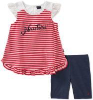 Nautica Baby Girls' Shorts Set
