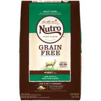 NUTRO Grain Free Adult Dry Dog Food, Lamb