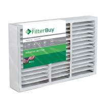 FilterBuy 16x20x5 AC Furnace Air Filters Compatible with Honeywell FC100A1003. AFB Silver MERV 8. Pack of 1.