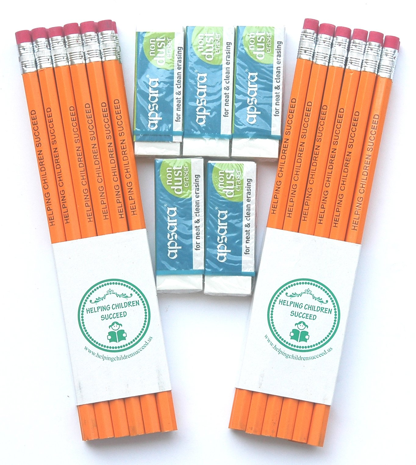 Admirably Sensitive Wonder Wands. Bonded Lead Pencils (No Breakage While Sharpening) Promoting a Social Cause. Helping Children Succeed (24)