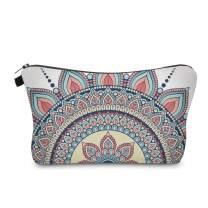 Cute Travel Makeup Bag Cosmetic Bag Small Pouch Gift for Women (Mandala 1)