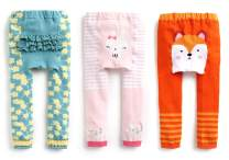 VAENAIT BABY 0-24 Months Infant Girls Soft Stretchy Footless Cotton Tights Leggings