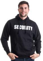 Security   Security Guard Fleece Hoody, Glow in The Dark Hooded Sweatshirt