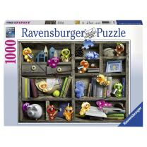 Ravensburger 19483 World Landmarks at Night 1000 Piece Puzzle for Adults - Every Piece is Unique, Softclick Technology Means Pieces Fit Together Perfectly