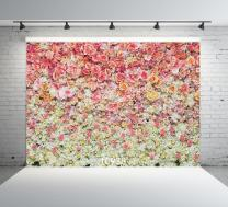 SJOLOON 7X5ft Floral Backdrop for Photography Valentine's Day Backdrop Wedding Backdrops Spring Flower Photography Backdrop Backdrops for Photographers Studio Props 10938