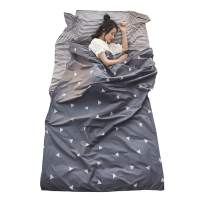 TRIWONDER Sleeping Bag Liner Camping Sheet Travel Sheet Cotton Lightweight Sleeping Sack for Camping, Traveling, Hotels & Backpacking