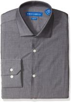 Vince Camuto Men's Slim Fit Spread Collar Dress Shirt