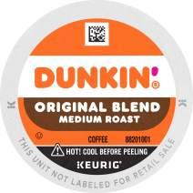 Dunkin' Original Blend Medium Roast Coffee, 44 Keurig K-Cup Pods