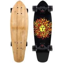 KONA SURF CO. Original Sun Series Cruiser Complete Skateboard for Kids and Adults
