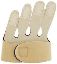 Rolyan Soft Hand-Based Ulnar Deviation Insert for Left Hand, Short Splint Insert for Joint Alignment, Aligns The Knuckle Joints in The Hand and Fingers for Pain Relief and Mobility, Medium
