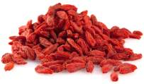 Anna and Sarah Organic Goji Berries 1 Lb in Resealable Bag, Superfood, Premium Himalayan Lycium Barbarum Dried Gogi Berries, USDA Certified, Plant Based Protein, Source of Antioxidants