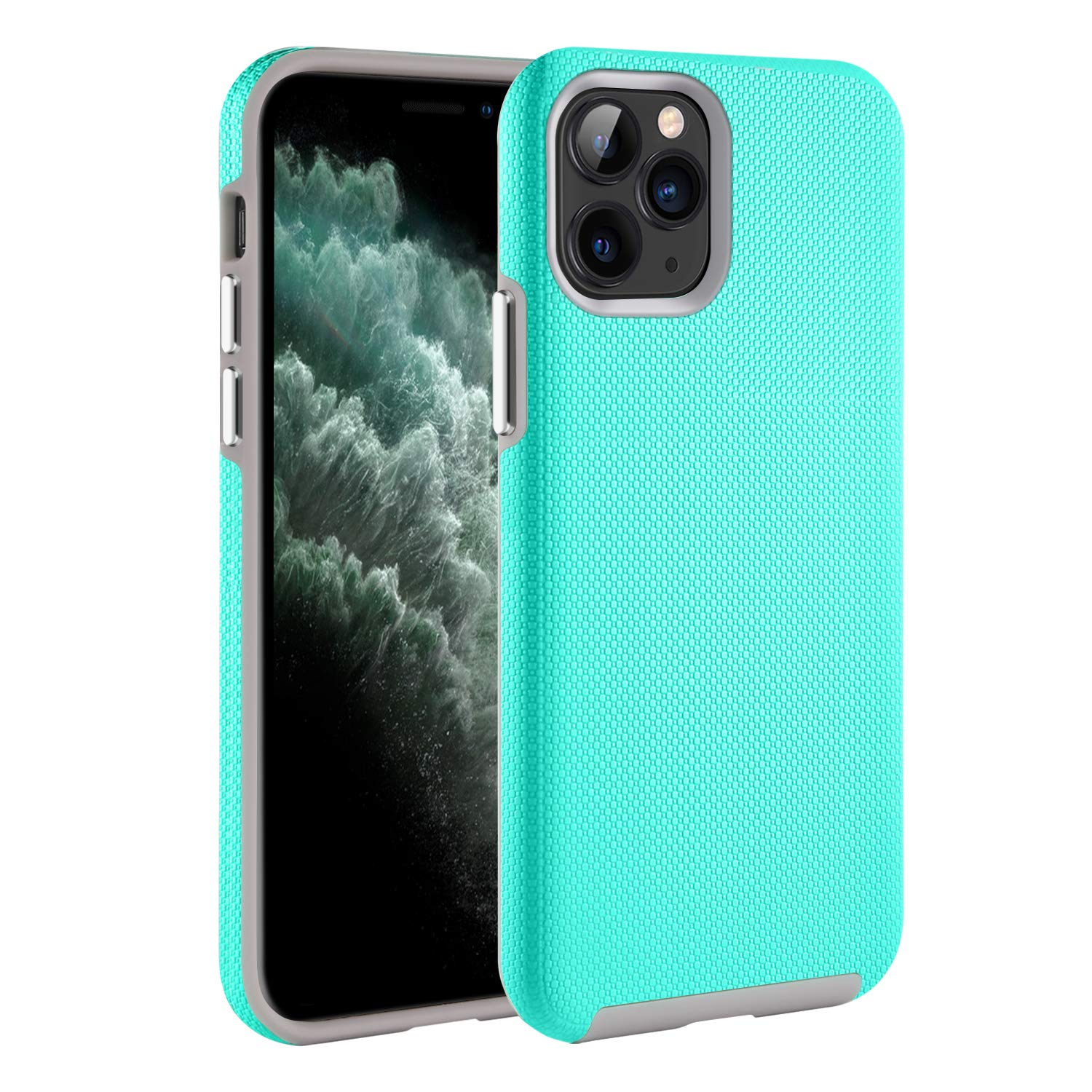 """BENTOBEN iPhone 11 Pro Case, Dual Layer Rugged Impact Resistant Protective Case for iPhone 11 Pro 5.8"""", Mint Green"""