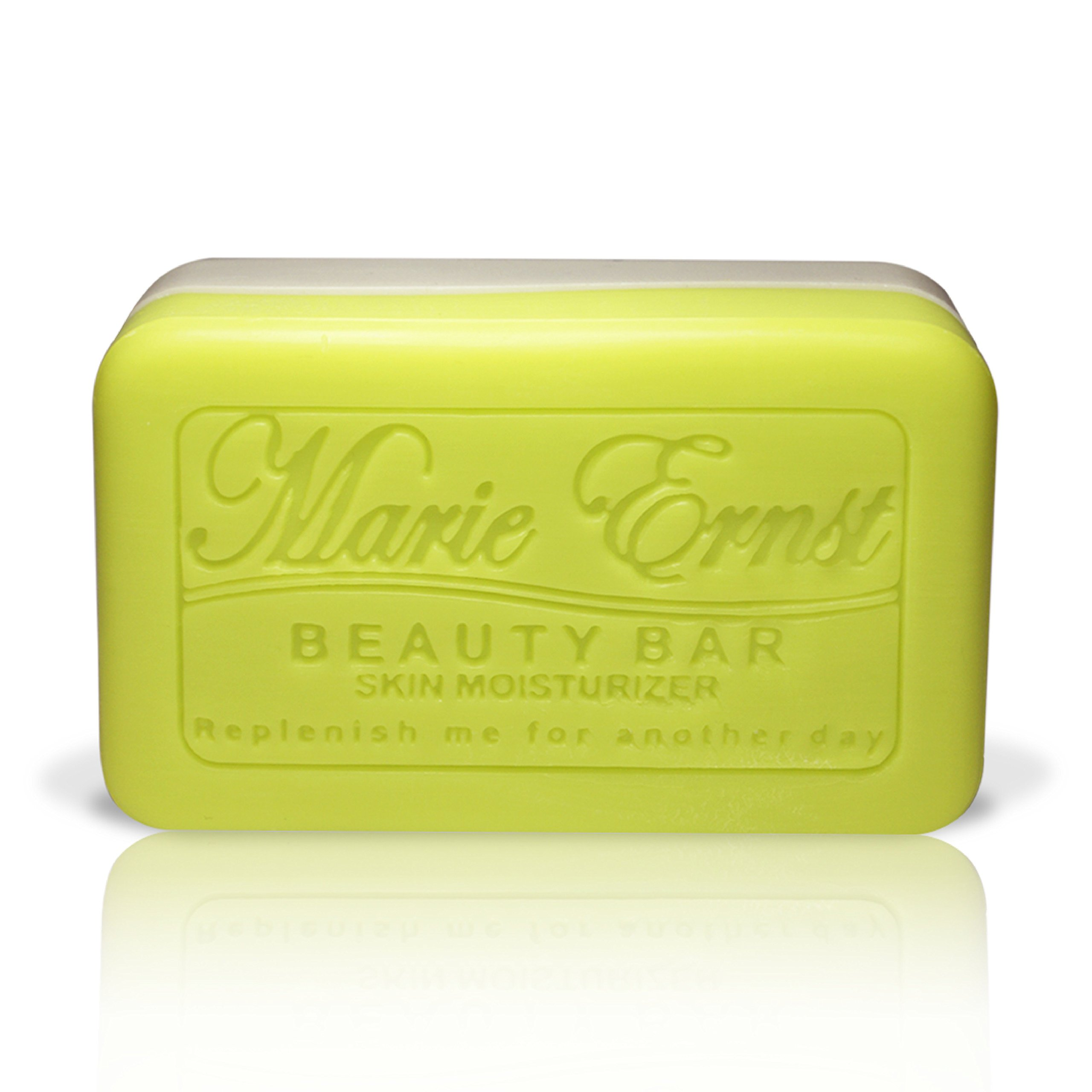 Marie Ernst Pumice Exfoliating Bar Soap with Shea Butter, Olive Oil, Aromatic Lemon Verbena, Vegan Bath Soap for Men and Women for the Ultimate Luxurious Bathing Experience