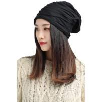 Spring Fever Men Women Adults Unisex All Season Slouchy Skull Cap Wrinkled Hat Lightweight Beanie