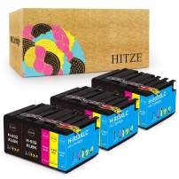 HITZE Compatible Ink Cartridge Replacement for HP 932XL 933XL 932 933 for HP Officejet 6600 6700 7612 7110 7610 6100 Printer (6 Black, 3 Cyan, 3 Magenta, 3 Yellow, 15 Pack)