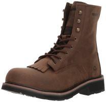 "Wolverine Men's Ranchero Steel-Toe 8"" Construction Boot"