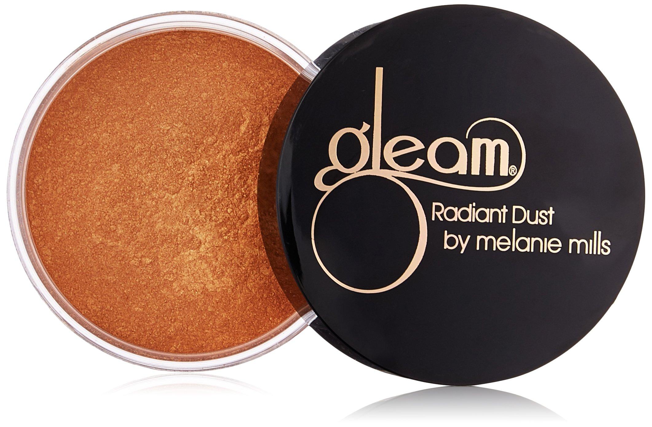 Melanie Mills Hollywood Gleam Radiant Dust Bronzing Powder - Deep Gold, 30g