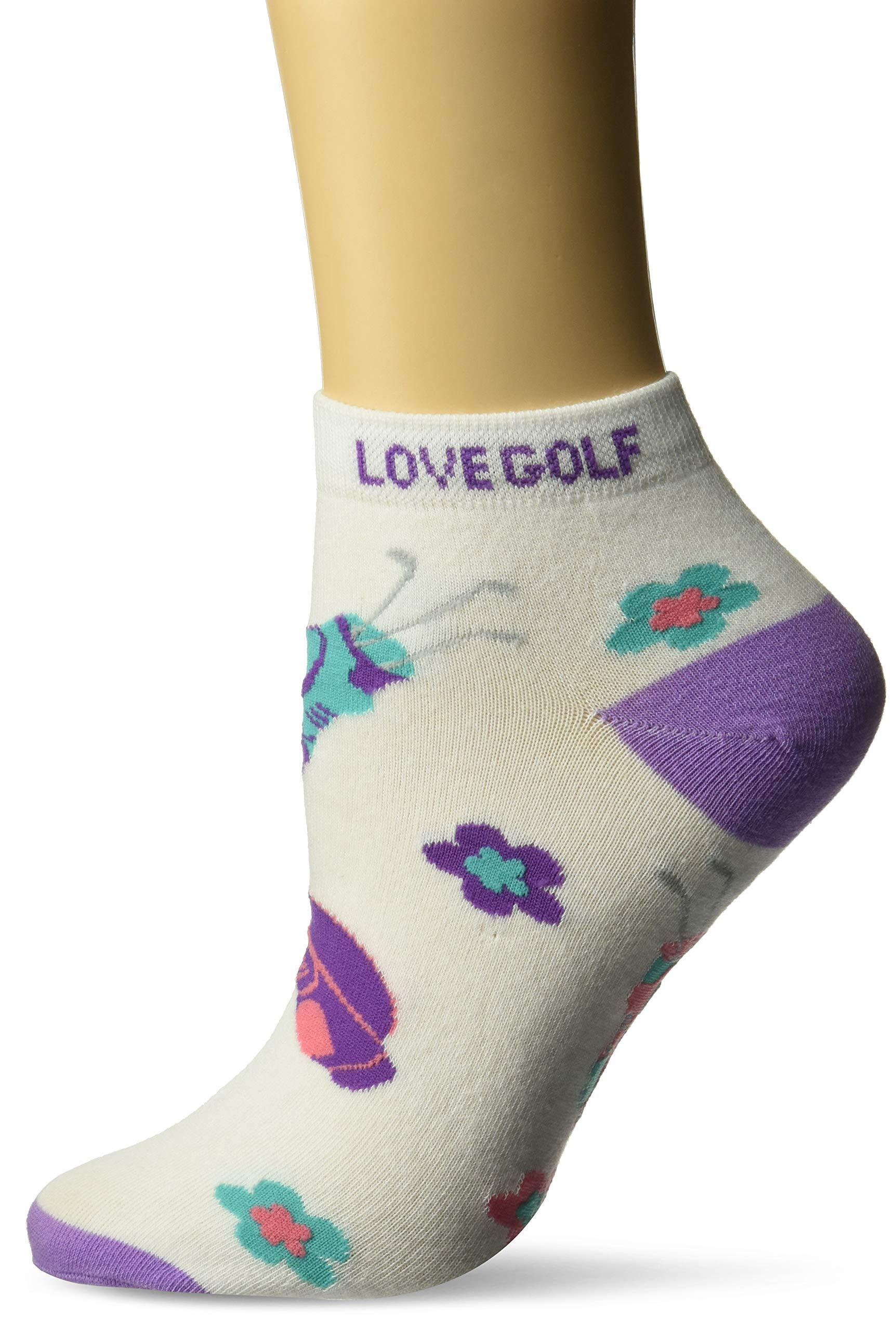 K. Bell Women's Gone Novelty Low Cut Sport Socks