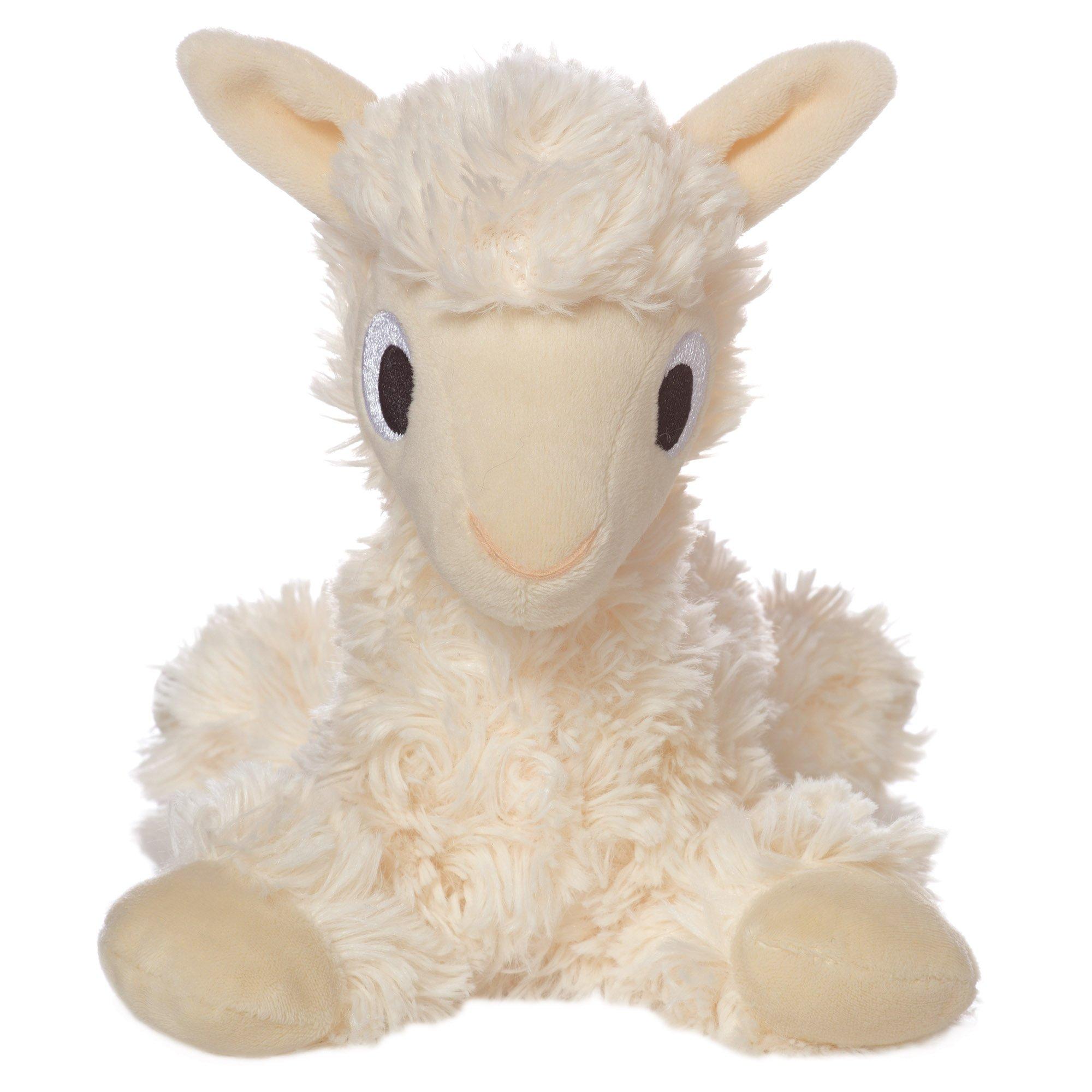 "Manhattan Toy Floppies Baby Llama 7"" Stuffed Animal, Cream"
