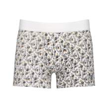 MR.U Fashion Mens Underwear Boxers Ultra Soft Breathable Premium Cotton Black Palms Pattern Sexy Dandy Collection